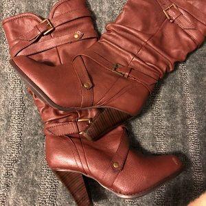 Rampage High Heel Boots